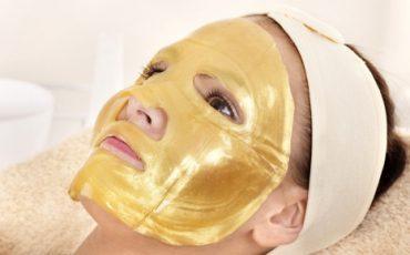 Máscara de Ouro 24k com Colágeno (1 sessão)